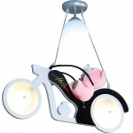 Motorsiklet Model Çocuk Odası Avizesi