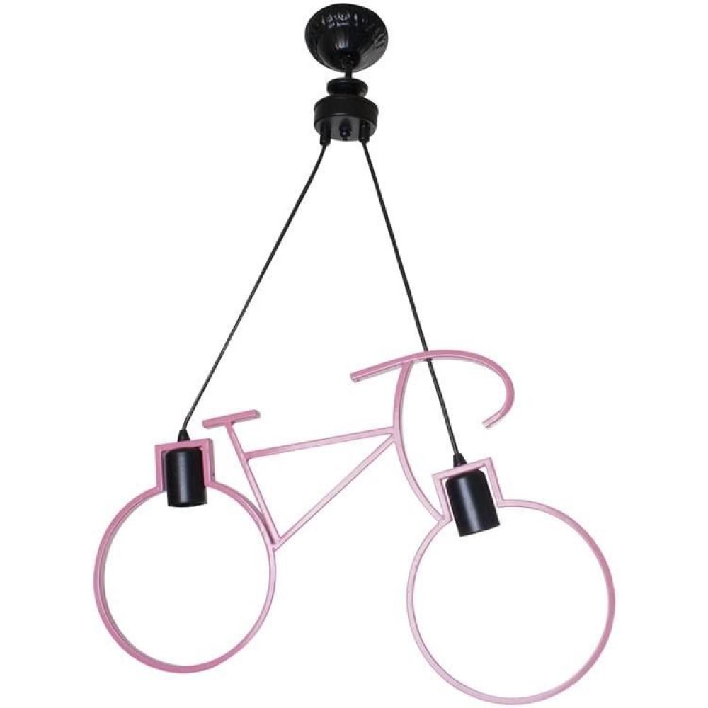 Bisiklet Model Pembe Renk 2'li Avize